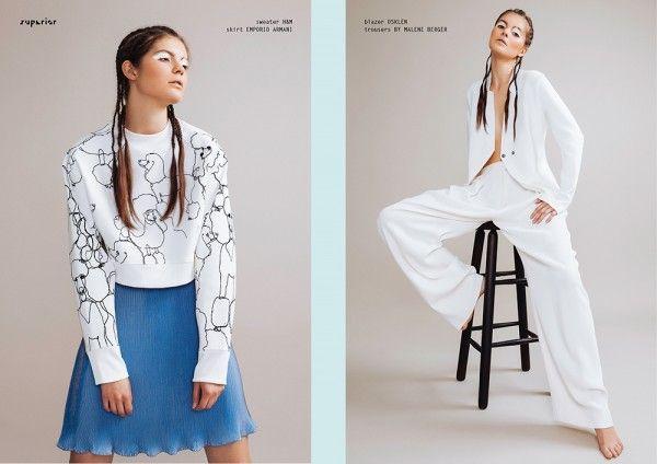 CONTOURS OF LIGHT - Fashion Editorial by Georgi Andinov