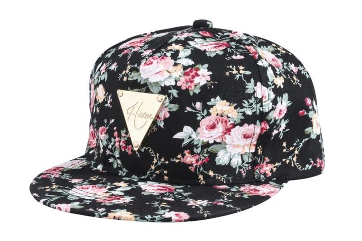 Yonala Fashion Floral Snapback Hip Hop Hat Flat Peaked Baseball Cap for Four Seasons, Black, One Size at Amazon Men's Clothing store: | @giftryapp