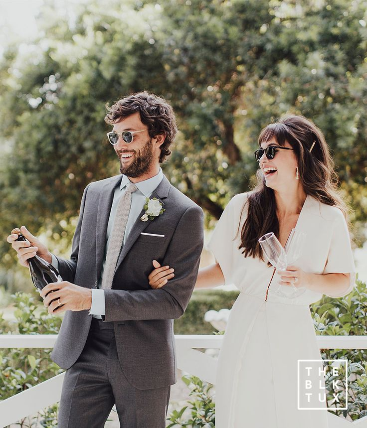 the black tux 2017 online tuxedo rental service grey gray charcoal suit casual fun wedding dress style inspiration -- Suit Up in Style, The Black Tux Way