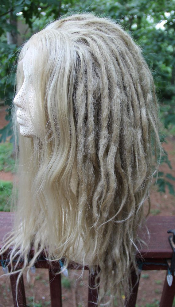 Lace-Front vuile Blonde synthetische Dreadlock aangepaste pruik * Dreads * Synthetische Dreads * wol Dreads * Dread Extensions * Wildling * dystopie