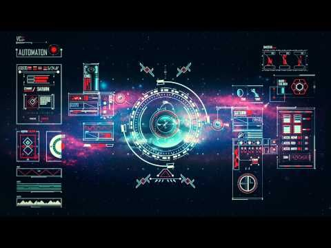 Space Age User Interface Ver. 1.0 - YouTube