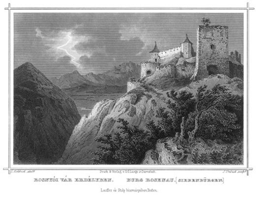 Castel Rosnyói în Transilvania