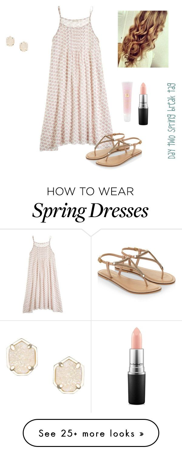 """""""Day two spring break tag"""" by mollenkopfg on Polyvore featuring CP Shades, Accessorize, Lancôme, MAC Cosmetics, Kendra Scott, women's clothing, women, female, woman and misses"""
