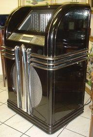art deco jukebox - Google Search