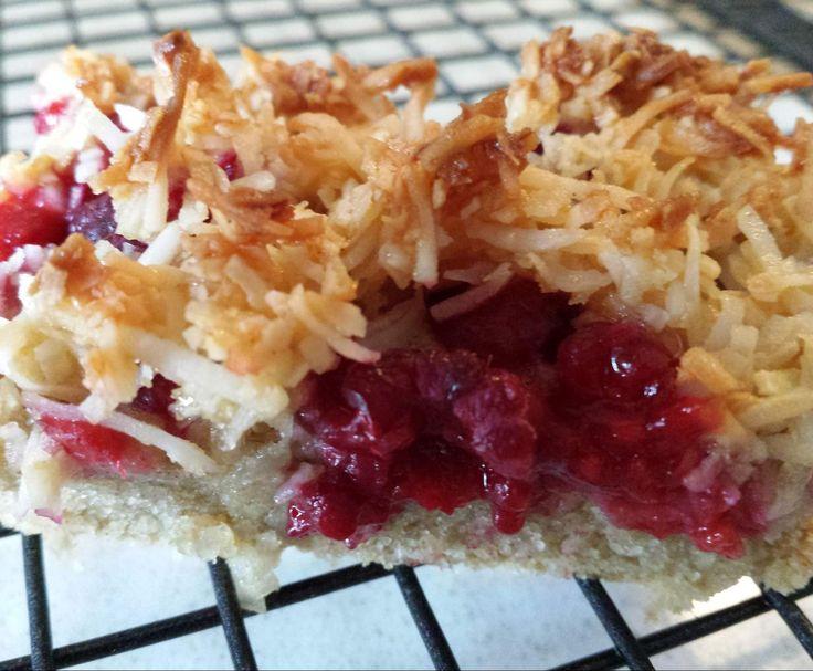 Recipe Raspberry Coconut Slice (gluten free) by mjklimec - Recipe of category Baking - sweet