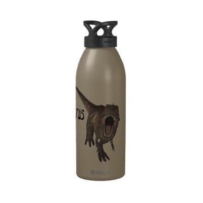 Tyrannosaurus Rex Liberty Bottle $29.95