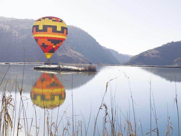 Lugballonvaart in die Wieg van die Mensdom.