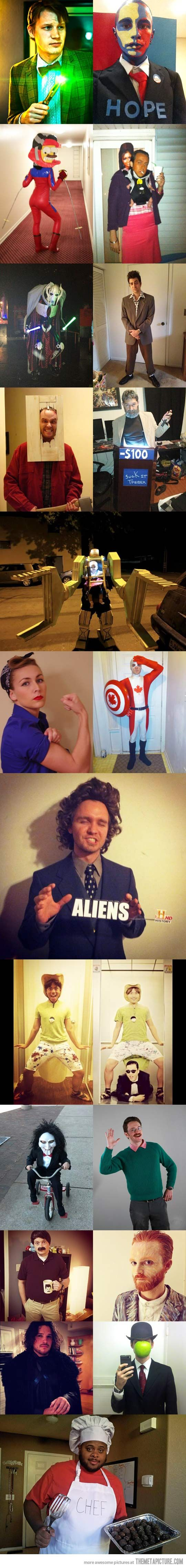 """Scroll down, take a look at Jon Snow, now say """"HOLY $h1t!""""  haha...damn that's some good costume...!"""