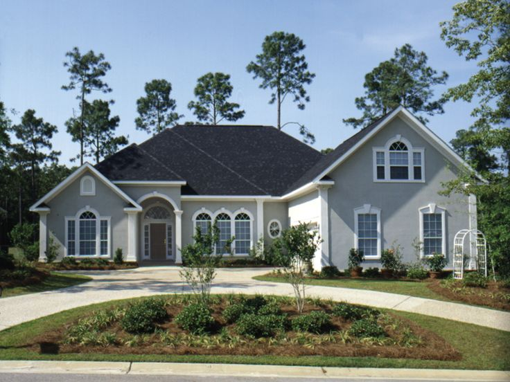 Cedargrove sunbelt home traditional house plans and home for Sunbelt homes