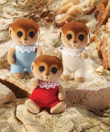 Love this Meerkat Figurine Set on #zulily! #zulilyfinds