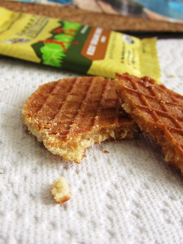Honey Stinger Organic Waffles - Tender Chewy Waffles Sandwich Pure Honey #dairyfree