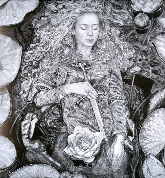 'The Lady of the Lake' by Ed Org.