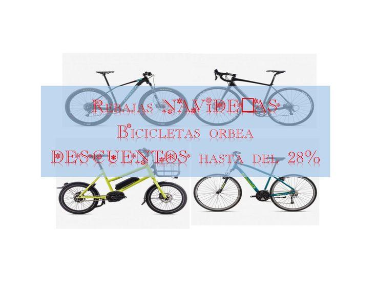 Ofertas navideñas bicicletas Orbea 2017. Descuentos de hasta el 28%