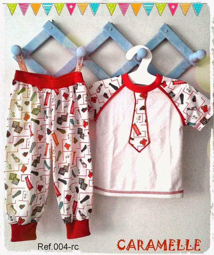 Caramelle : Pequeños divertidos! pijamas niños, moda kids.