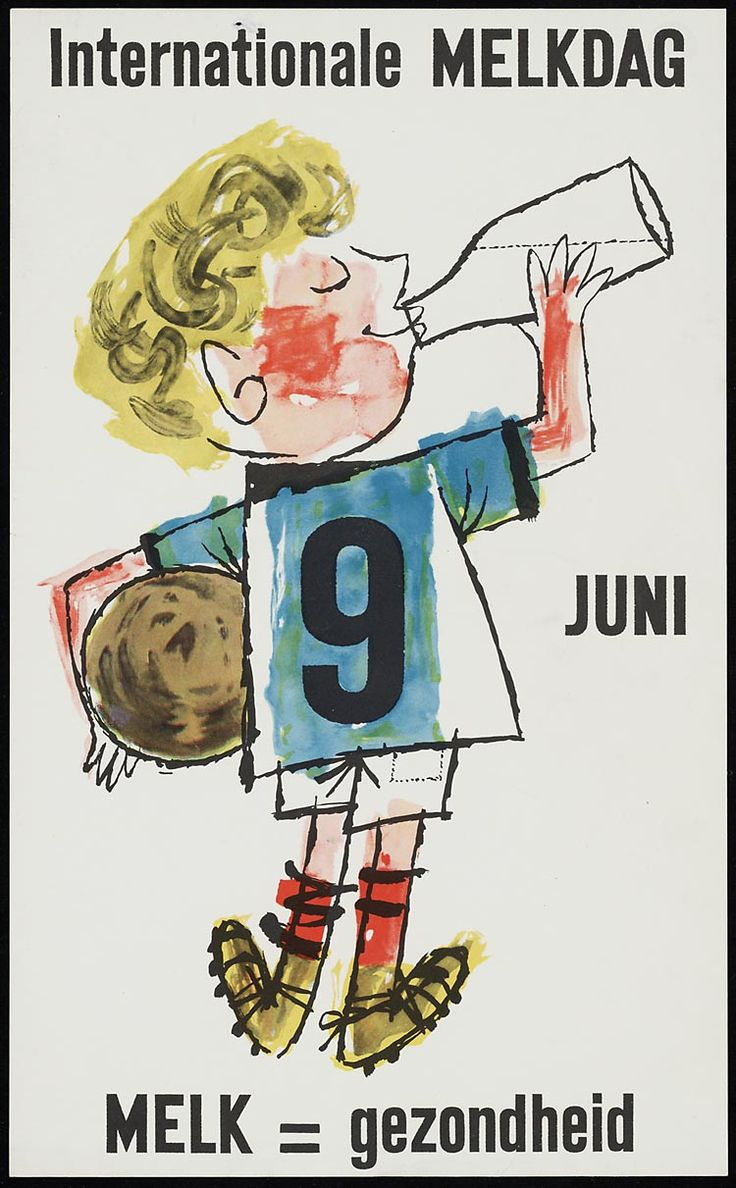 'Internationale melkdag 9 juni melk' 1961