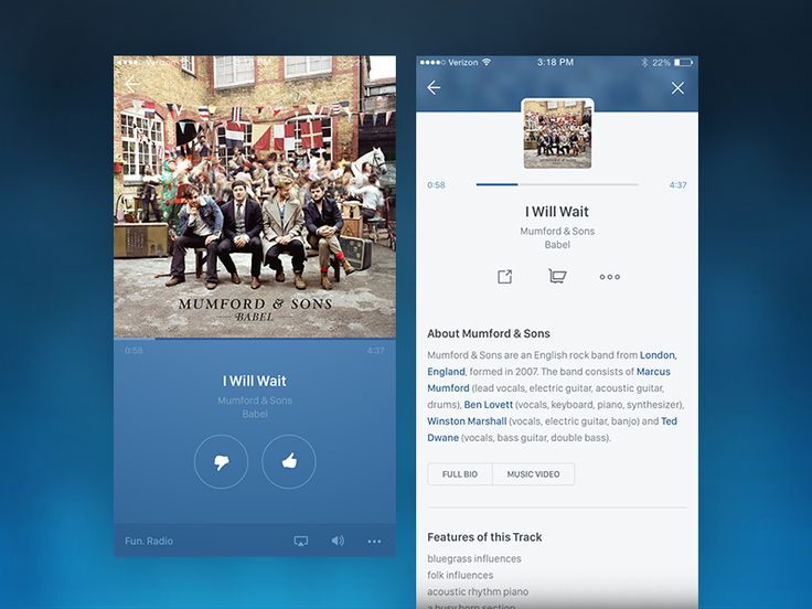 Pandora UI Update