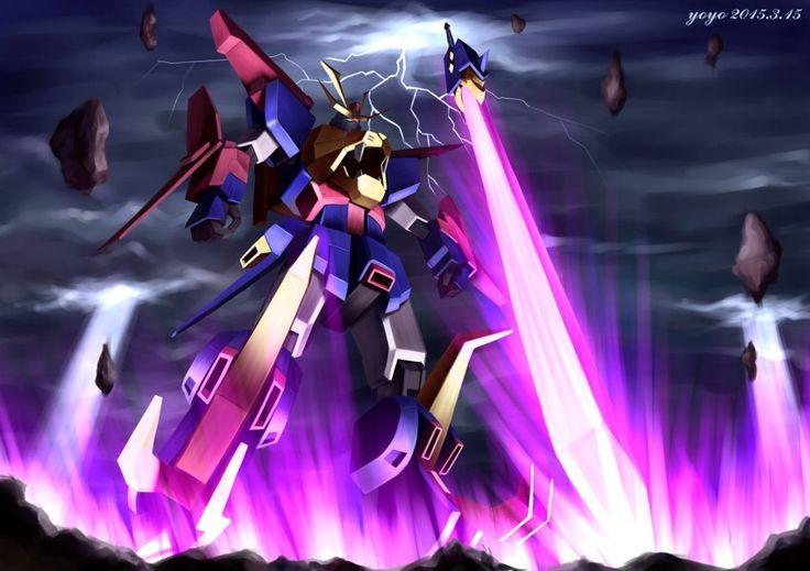 Gundam Build Fighters Try - 最強機動 Gundam Tryon 3