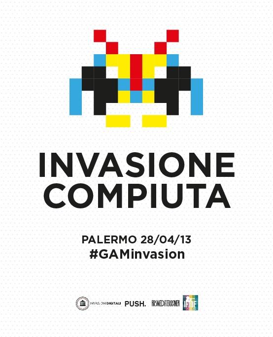 Invasione compiuta! #GAMinvasion #invasionidigitali