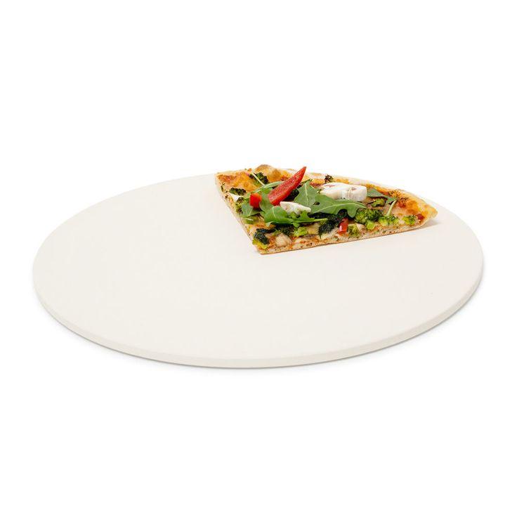 Pizzastein 33 cm Baking Stone Brotbackstein Grillstein für Ofen Pizza Cordierit