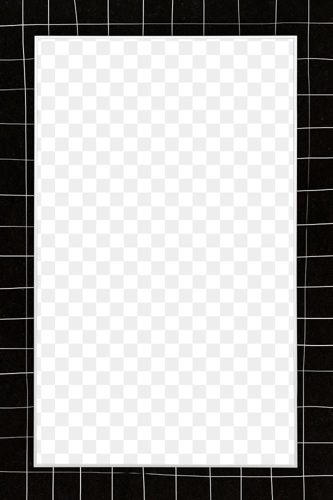Png White Grid Frame Transparent Background Free Image By Rawpixel Com Sasi Transparent Background Frame Frame Template