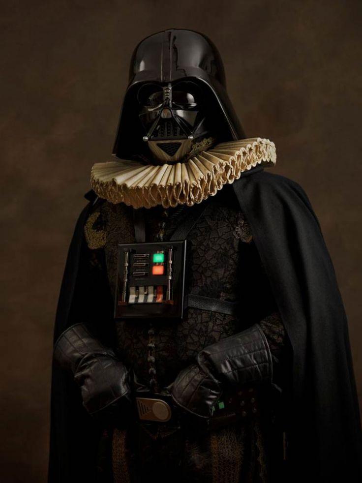 Darth Vader by Sacha Goldberger