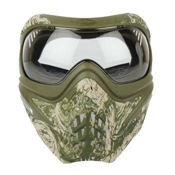 VForce Grill SE Paintball Mask - Dual Tan Zombie | Badlands Paintball Gear Canada