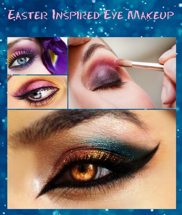 Eye Makeup for Easter