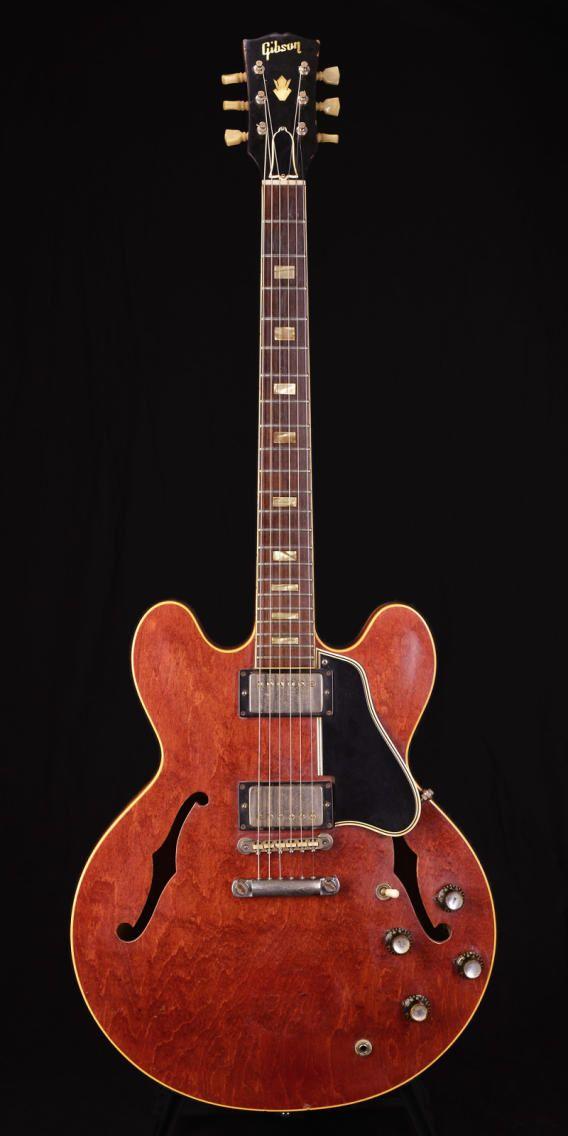 Gibson ES-335 1963 Cherry