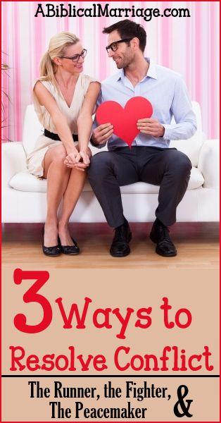 3 Ways to Resolve Conflict