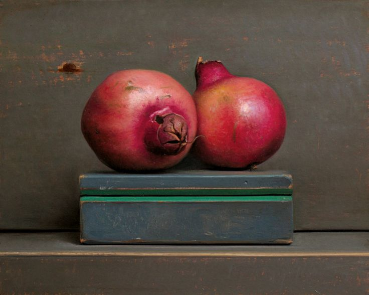 Jos van Riswick - Pomegranates, oil