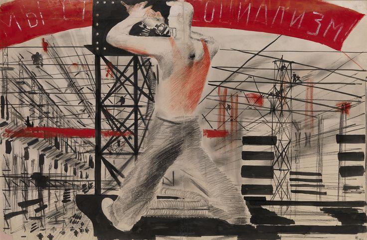 PIMENOV, YURI (1903-1977)  We Are Building Socialism