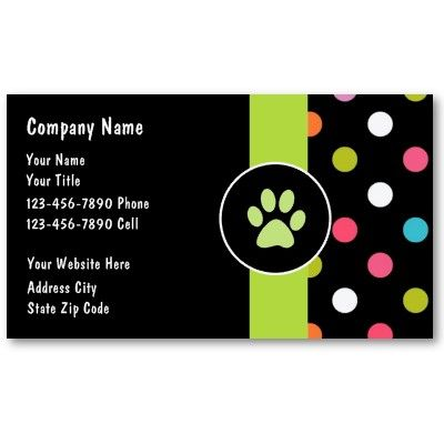 30 best groomers online printing zazzle products images on pinterest pet care business cards colourmoves