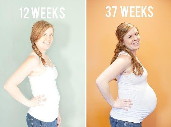 ¿Te imaginas poder documentar el desarrollode tu embarazo? Hoy te presento la historia de Sarah Syhakhoun, una bloguera estadounidense que tomó fotos del crecimiento de su pancita desde que tenía 13 semanas de embarazo.