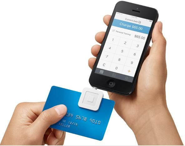 A credit card reader to make your business portable.