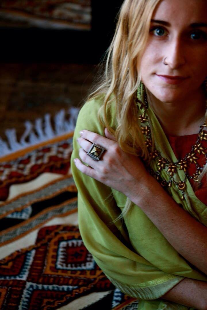 Inspired Tribe photo shoot. Tribal treasures and bohemian beauty.