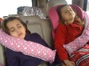 Seat Belt Pillow - must get these for the next road trip.