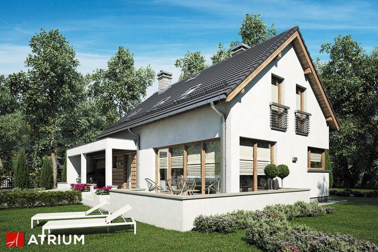 Projekt Rumba II - elewacja domu