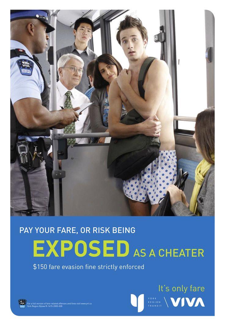 York Region Transit - fare evasion campaign
