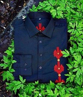 On - Podhaler - odzież góralska, folk, haft, parzenica