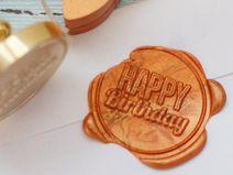 "Siegelstempel ""Happy Birthday"""