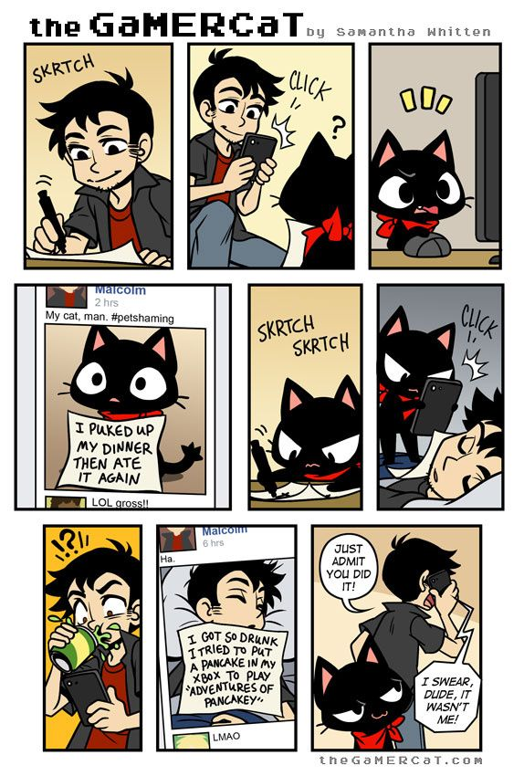 the GaMERCaT :: Shame Game | Tapastic Comics - image 1