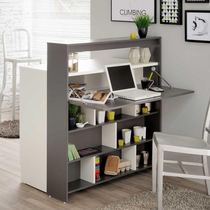 multifunktionsregal palm in grau wei fr hst ckstisch regal k chentheke und. Black Bedroom Furniture Sets. Home Design Ideas