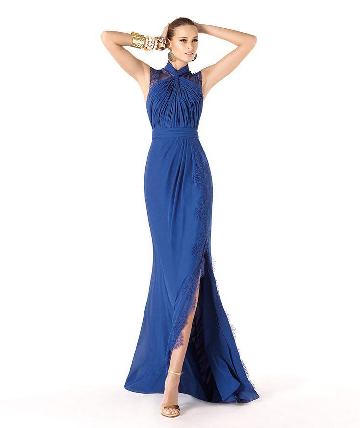 Pronovias te presenta su vestido de fiesta Roser de la colección Madrina 2014. | Pronovias