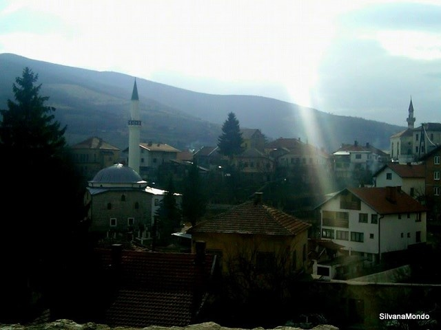 View of old town Travnik (original photography)