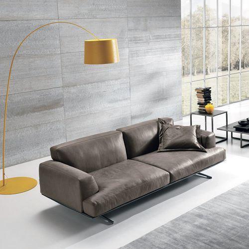 Sofá modular / moderno / de cuero / de tela ALBACHIARA  MaxDivani