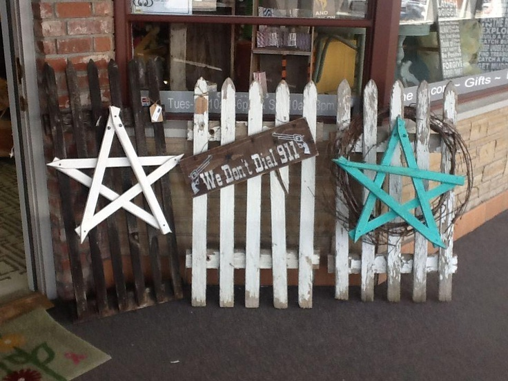 1000 Images About Picket Fence Crafts On Pinterest