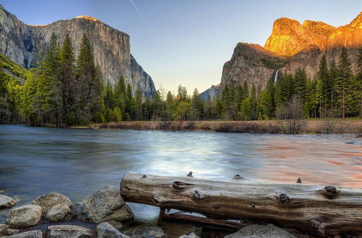#Yosemite Valley, #Merced River by Nietnagel