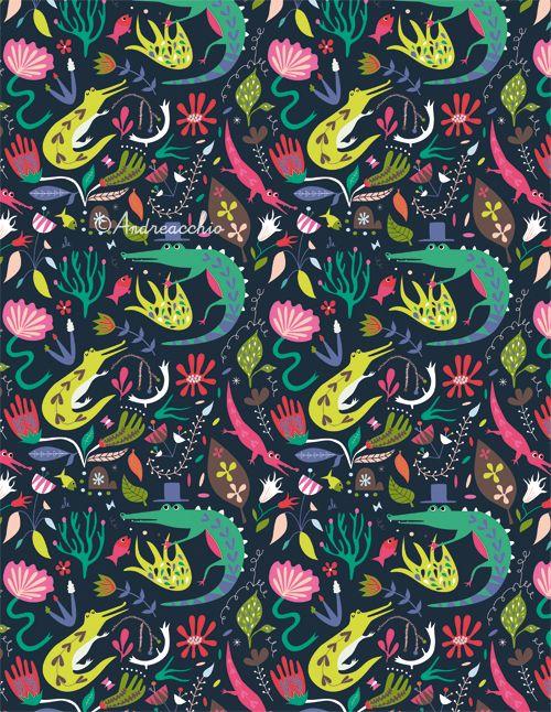Happy ? Mitou ! Illustration Blog !!!!: Crocs Pattern ! :)