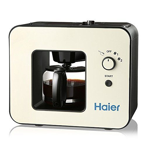 Haier Brew Automatic Coffee Makers 4 Cup with Grinder Machines *** Want to know more, click on the image.