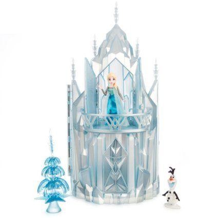 Disney - Die Eiskönigin / Frozen - völlig unverfroren - Elsa Eisschloss-Spielset mit Musik: Amazon.de: Spielzeug